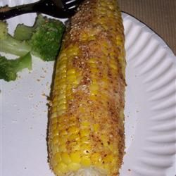 Parmesan Roasted Corn on the Cob Allrecipes.com