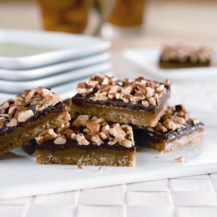 Chocolate Toffee Bars | Dessert Bars & Squares | Pinterest