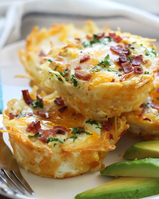 ... eggs in hash brown nests recipe yummly hash brown egg nests with