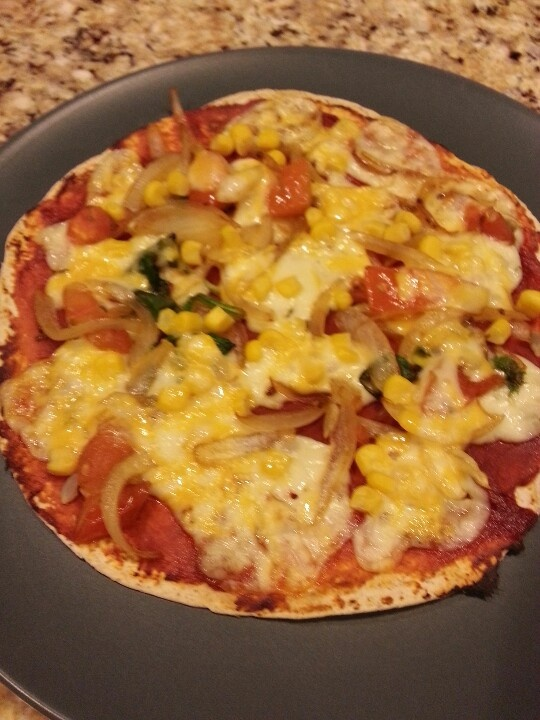 vegan vegan pizza with tortillas personal vegan tortilla pizza ...