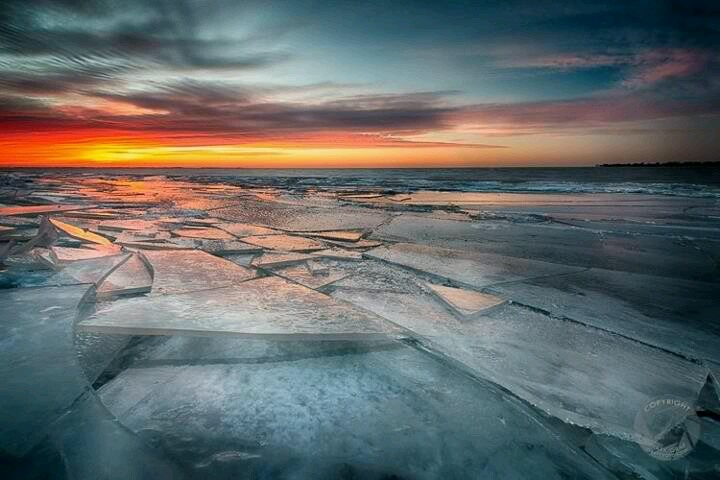 Lake st clair michigan lovely pinterest for Ice fishing lake st clair
