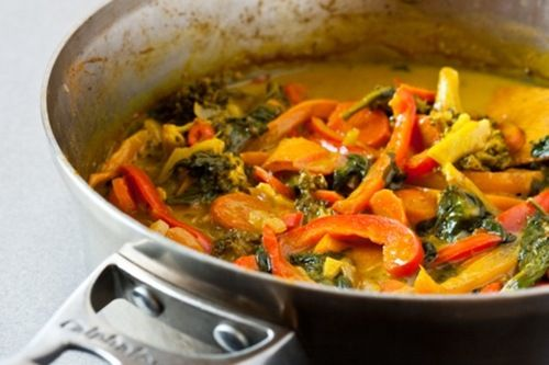 Vegetable Coconut Curry | soup, stews and curries | Pinterest