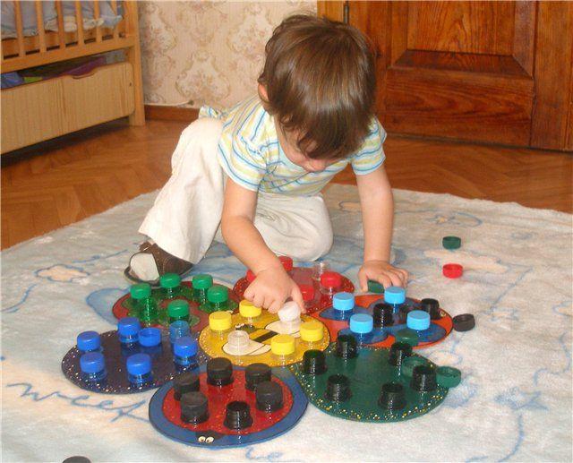 Развивающие игрушки своими руками для детей 4-5 лет фото 7