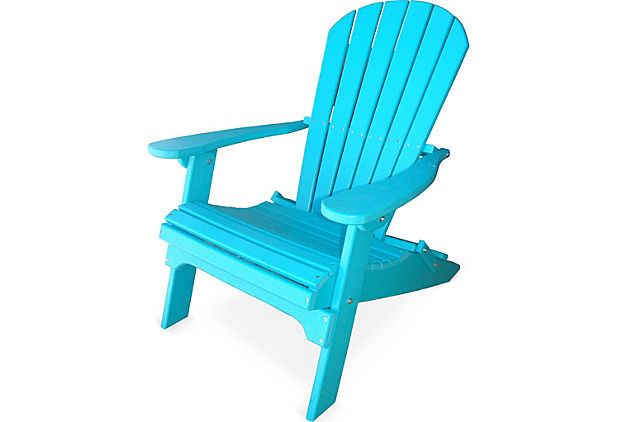 outdoor adirondack chair teal