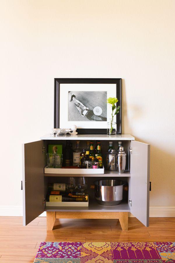 Living Room Update : Storage Cabinet by @sauderusa. #sponsored // www ...