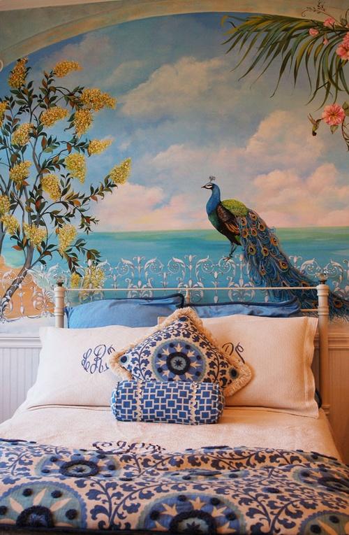 GORGEOUS trompe loeil mural  Craft Ideas  Pinterest