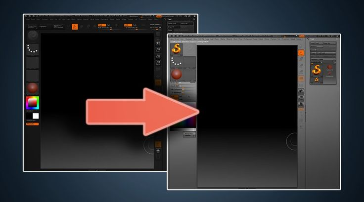 Customizing Zbrush s Interface   Sculpt CookieZbrush Interface