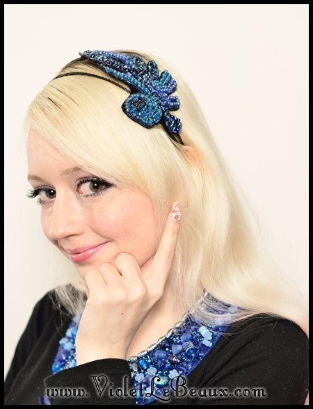 DIY beaded hair accessories   Craft ideas   Pinterest