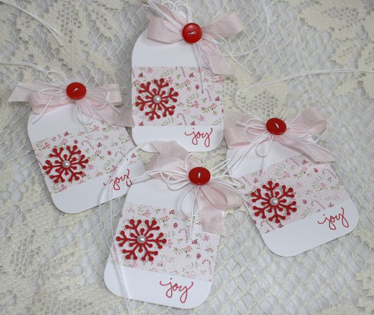 Homemade Wedding Gift Tags : Handmade Holiday Gift Tags Cards/Paper-crafts Pinterest
