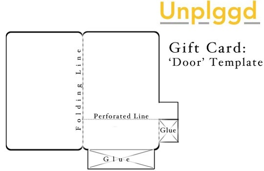 Gift Card With Envelope Template Cu Pu Instant Card Making Downloads - Gift Card Envelope Template