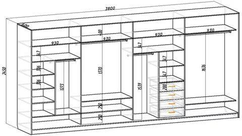 Шкаф в прихожую своими руками схема 44