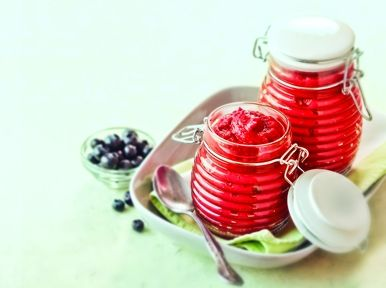 Blueberry Chipotle Ketchup recipe - makes 16 servings