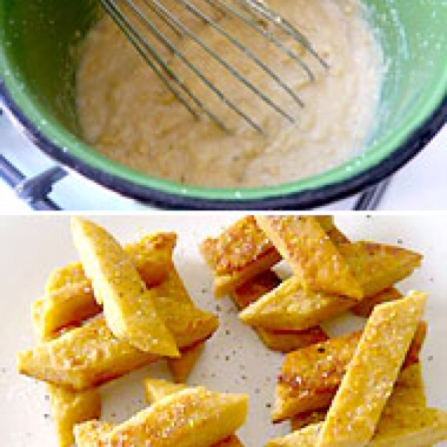 Chickpea fries | Remember This Later | Pinterest