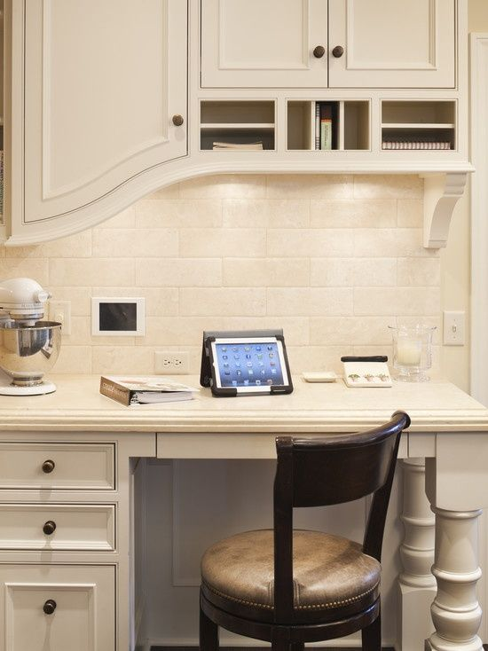 kitchen desk new house ideas pinterest built in kitchen desk design ideas