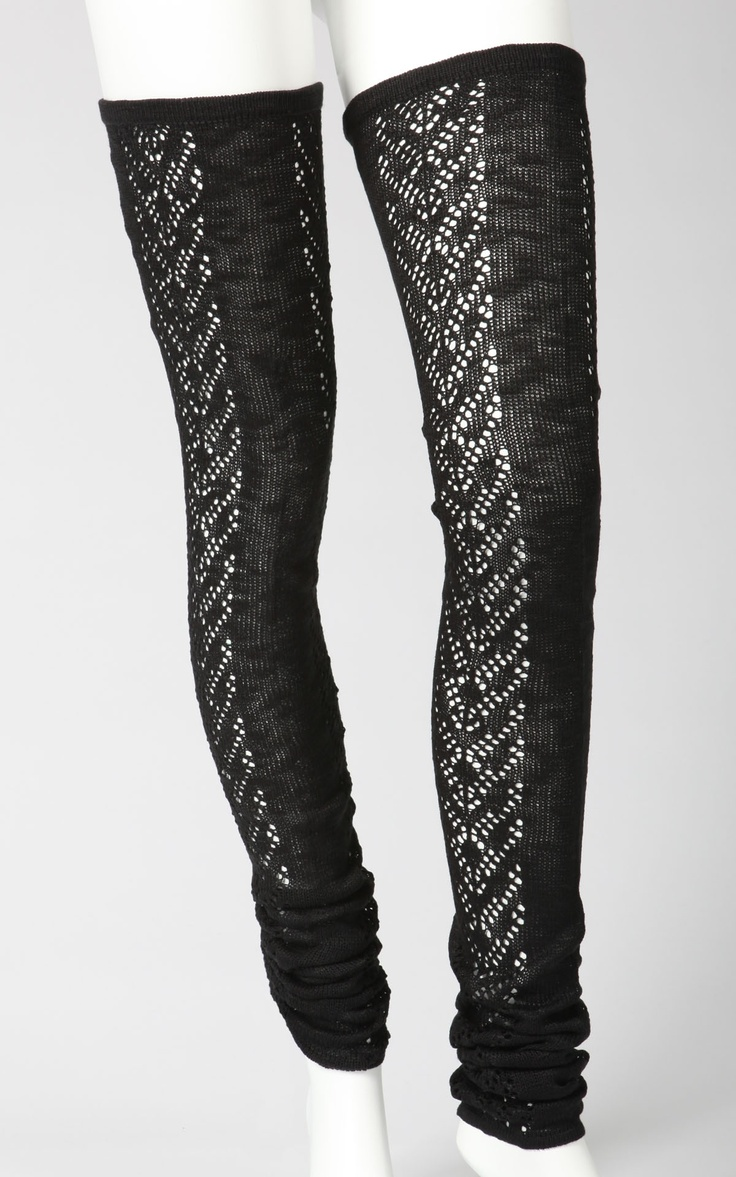 thigh high leggings at Tulle