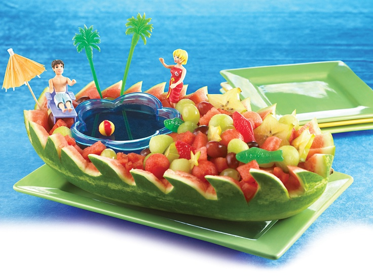 Melon Boats Recipe — Dishmaps