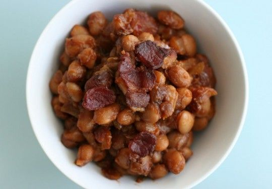 Spicy Baked Beans | Salads and Sides | Pinterest
