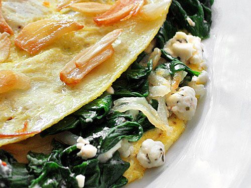 Greek Potato, Spinach and Feta Omelet | Ezra Pound Cake. So much ...