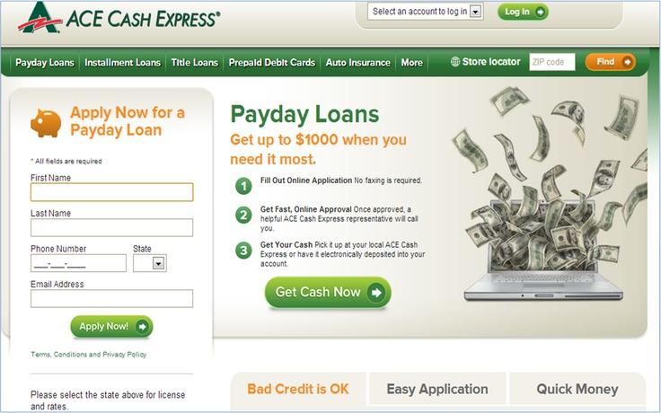 Find an ACE Cash Express near you: