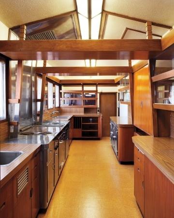 hollyhock house frank lloyd wright good kitchens pinterest. Black Bedroom Furniture Sets. Home Design Ideas