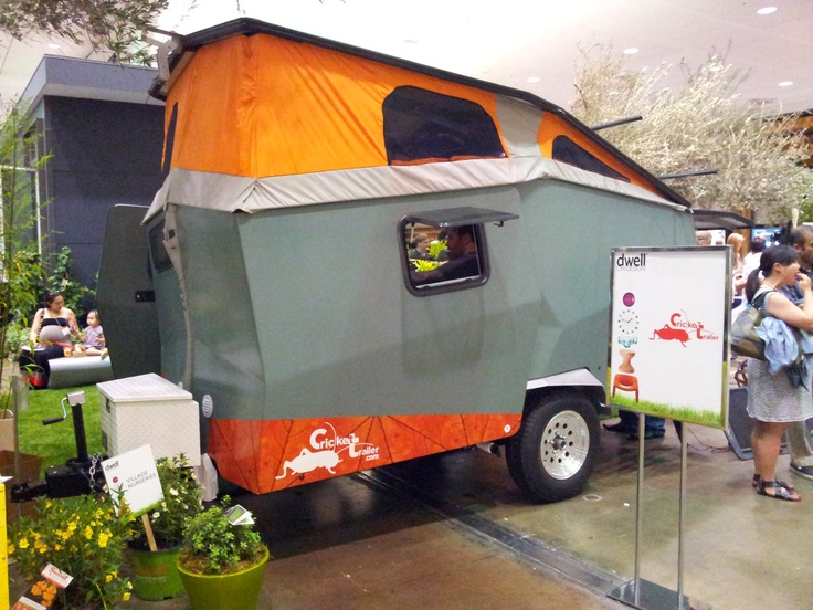 Awesome Sealander Amphibious Camping Trailer  Cool Material