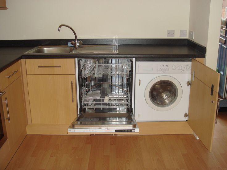 washing machine kitchen sink