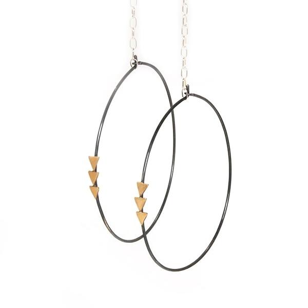 athena's bow earrings
