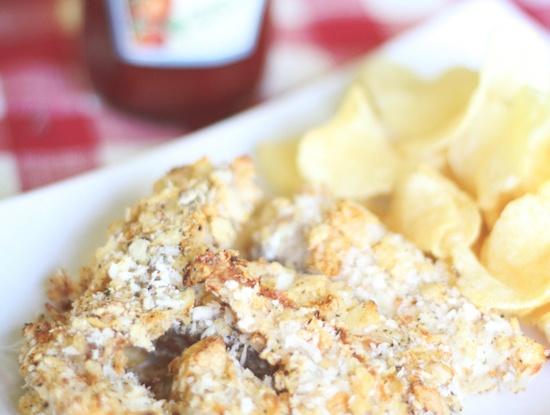 Skinny Fish & Chips | Food - Fish | Pinterest
