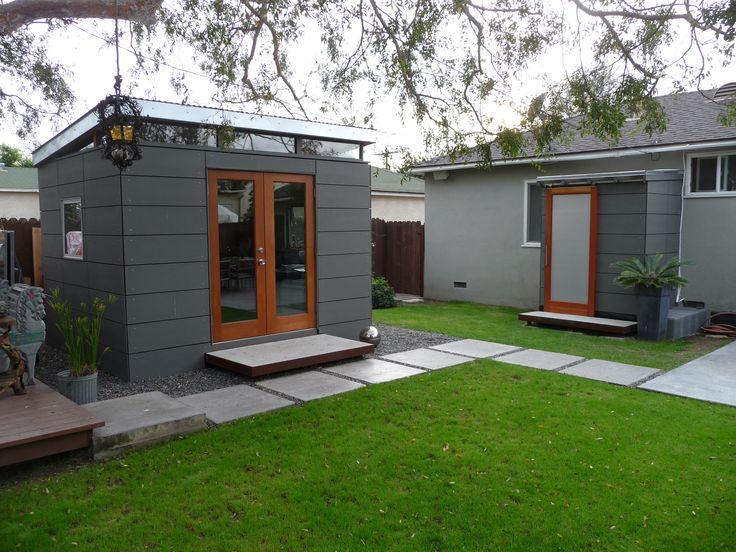 Modern shed garden studios modern shed pinterest for Modern shed