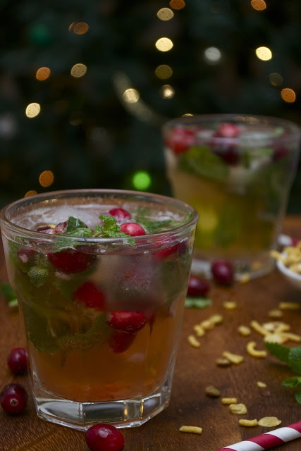 Cranberry mojito | From my kitchen | Pinterest