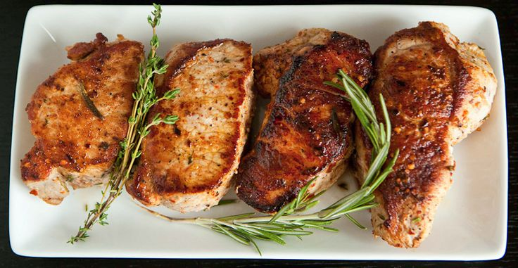 Marinated Pork Chops | Entree: Pork | Pinterest
