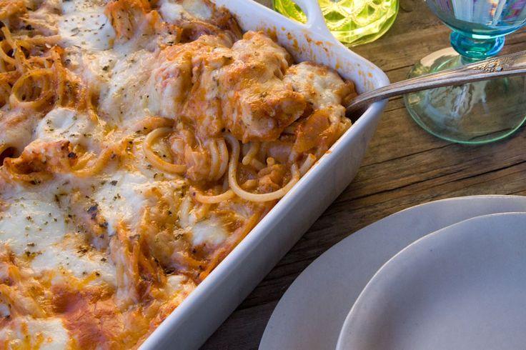 Turkey Spaghetti Bake + A Picky Palate Cookbook Giveaway | Recipe