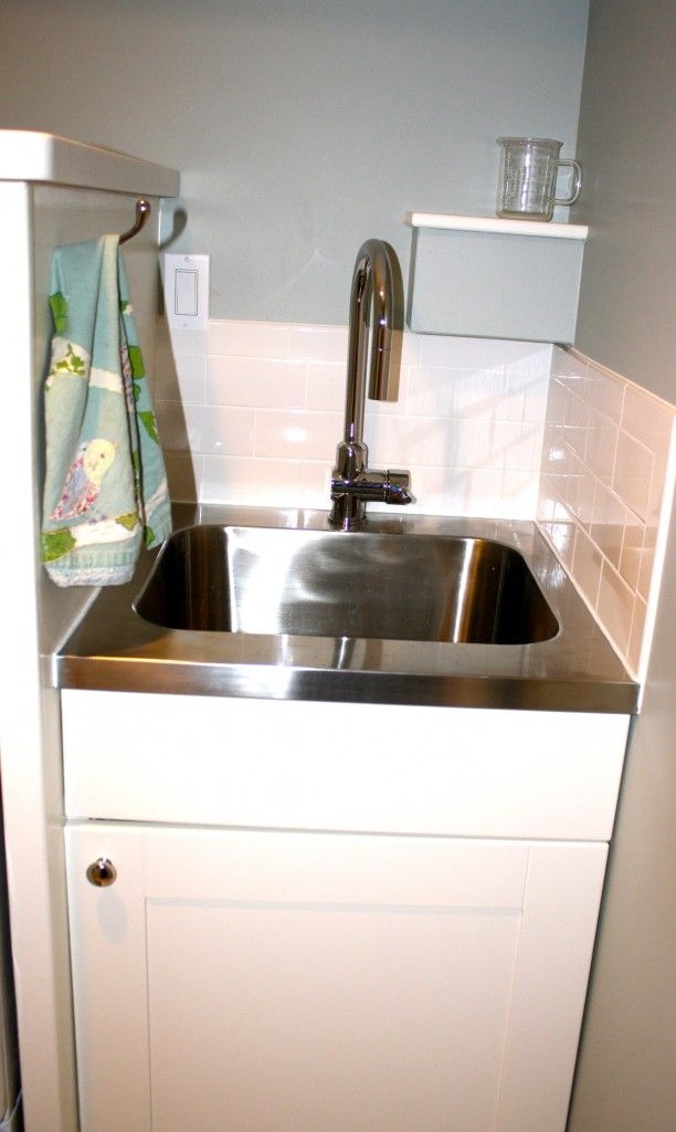 Corner Utility Sink : sink (as seen in Amys laundry room) perfect for laundry room corner ...