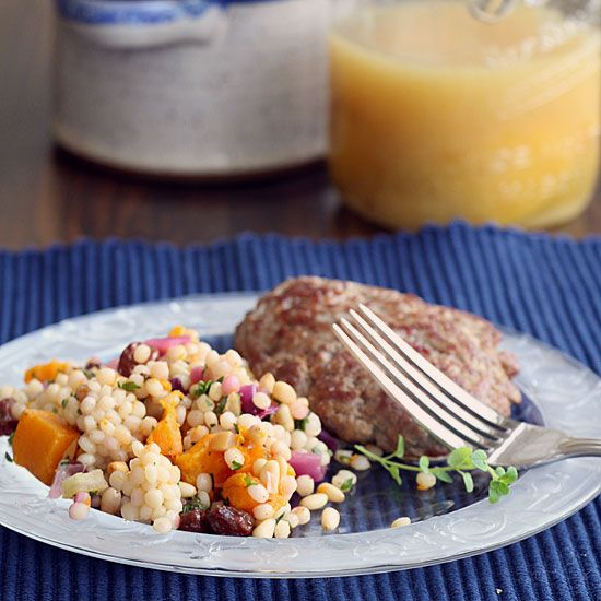 Israeli Couscous with Butternut Squash & Preserved Lemons | Recipe