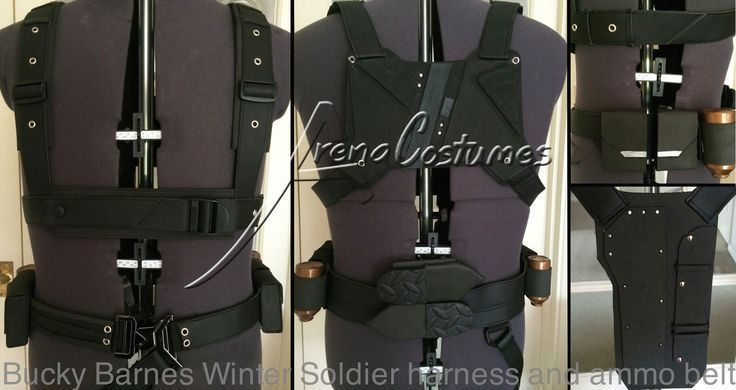 Bucky Barnes Harness : Bucky barnes winter soldier harness and ammo belt no