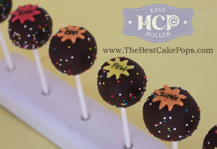 """... Cake Pops! Take a look at how we roll;)! ...""""Skinny"""" Cake Pop S..."""