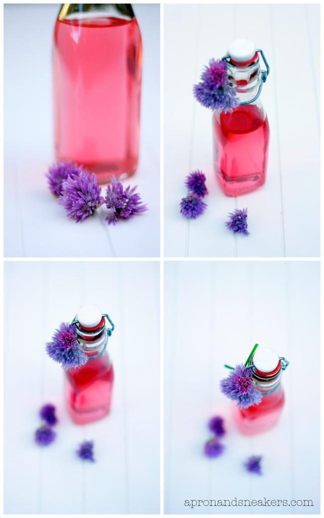 Chive Blossom Vinegar | Edible Flowers: Pantry | Pinterest