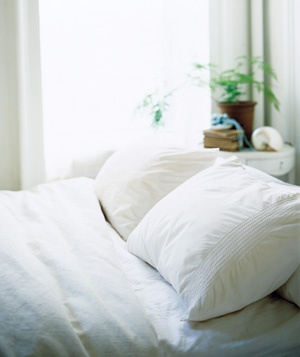 How to Wash a Down Comforter from Real Simple-