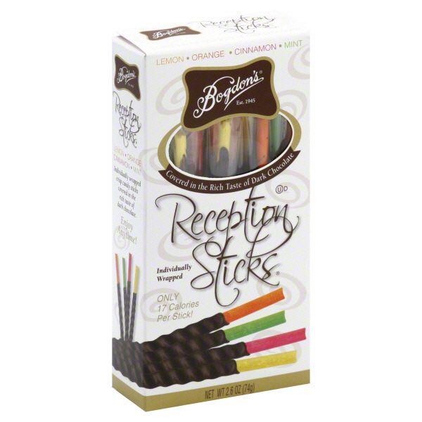 Bogdon's Reception Sticks, Lemon, Orange, Cinnamon, Mint