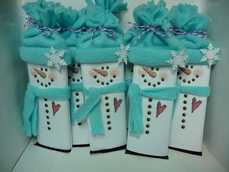 Wrapper Templates | Free Download Snowman Candy Bar Wrapper Template ...