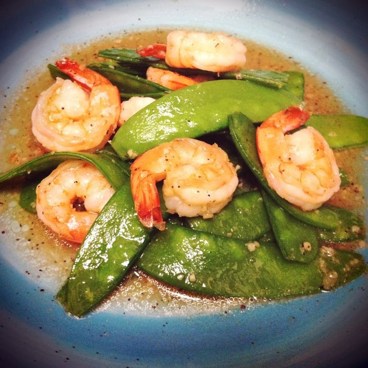 Stir Fry Shrimp Snow Peas. | STIR FRYS | Pinterest