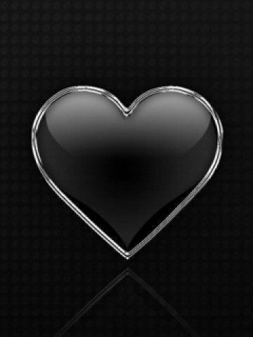 Black And White Love Heart Wallpaper : Pin by Myra Stuples on Hearts Pinterest