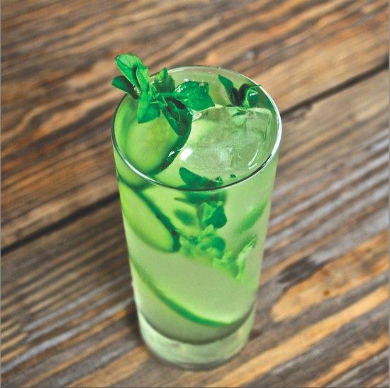 Basil-Cucumber Limeade | Les nectars | Pinterest