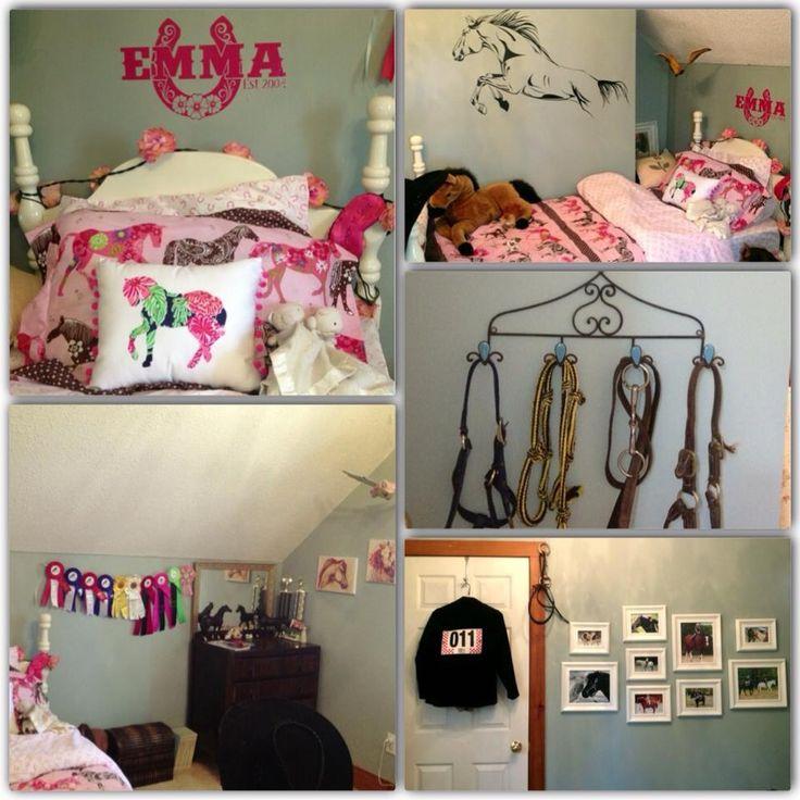 Horse crazy bedroom girls bedroom ideas pinterest