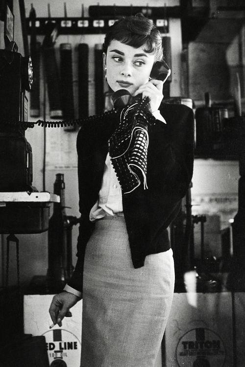 Audrey Hepburn C 1950s Vintage Pinterest