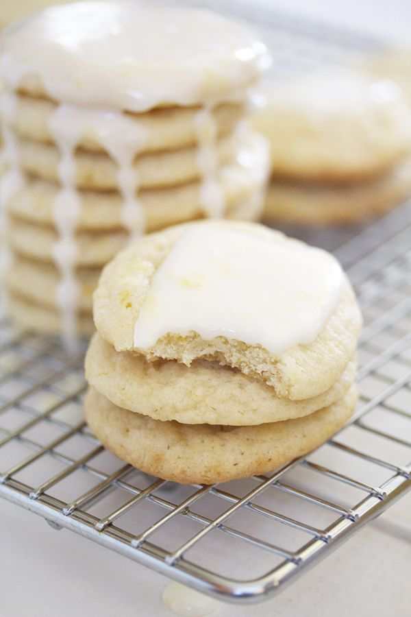 Glazed Lemon Cookies | Desserts, rolls, muffins, cookies, pies and ca ...