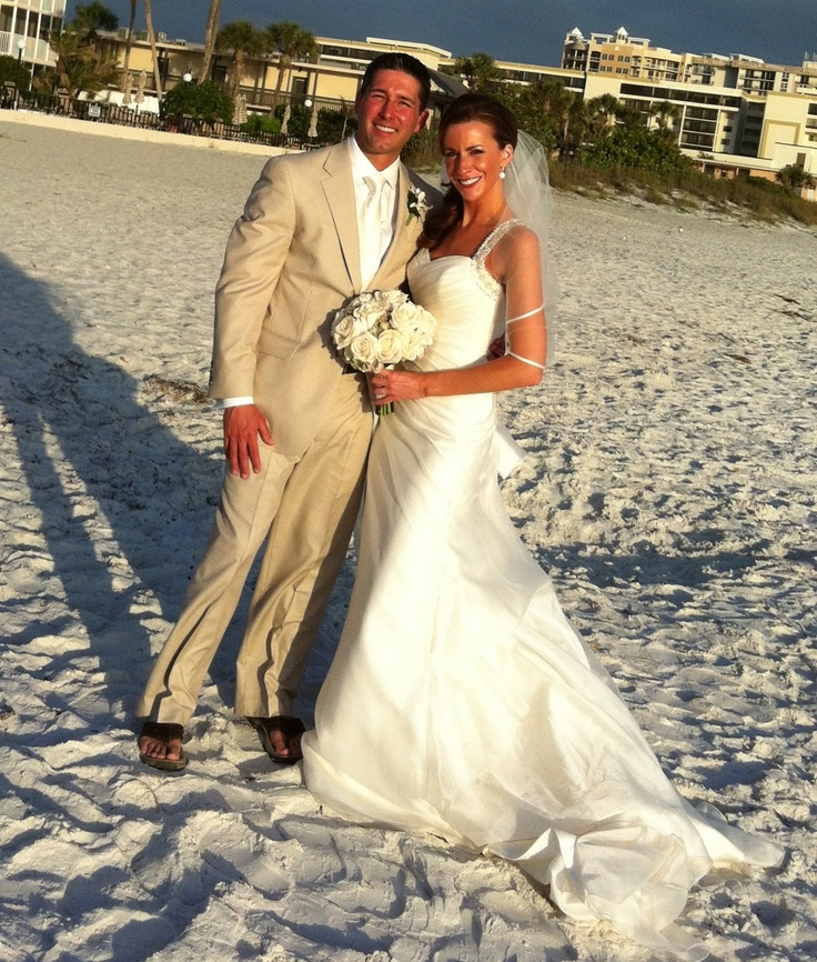 WFMJ Today's Lauren Lindvig with her husband Scott on their wedding day, April 15, 2012.