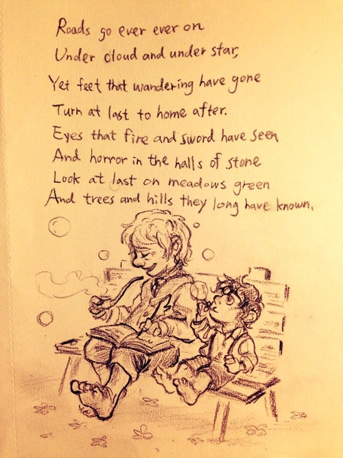 Bilbo and Frodo  F863c94bf4ae5f9061a5f19a63df0d04