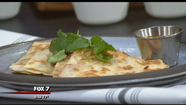 Strawberry Leek Quesadilla | Cooking with Good Day Austin | Pinterest