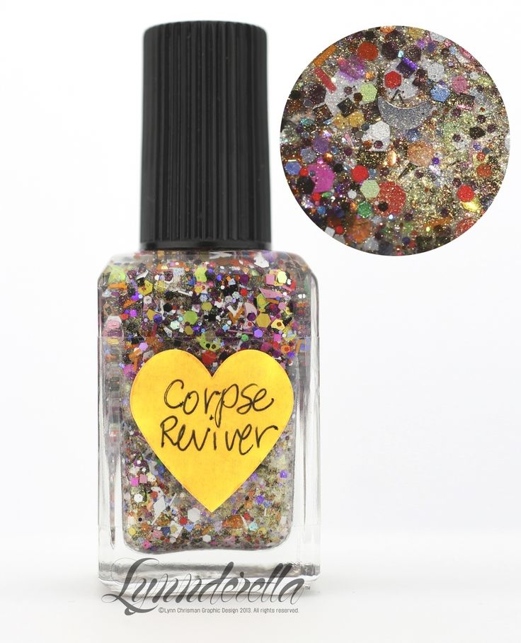 Lynnderella Limited Edition—Corpse Reviver is a multiglitter with ...